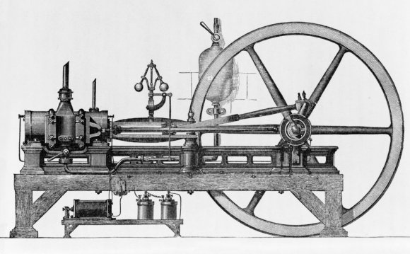 First Coal-Gas Engine