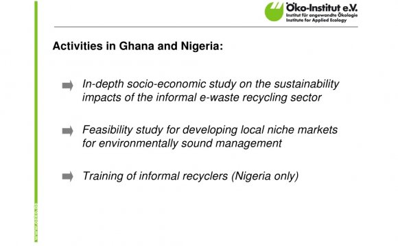 Activities in Ghana and