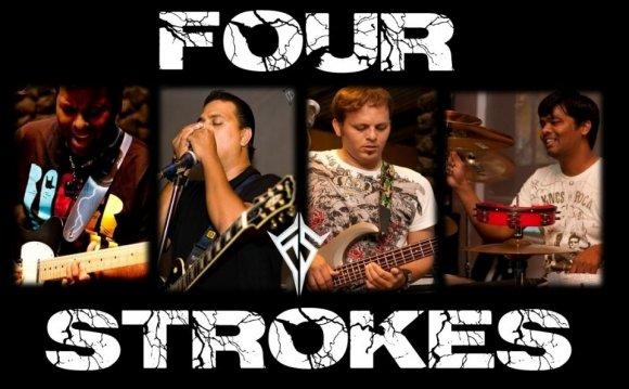 Four Strokes Performing Live