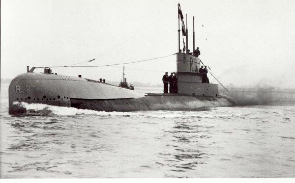 R3 at sea
