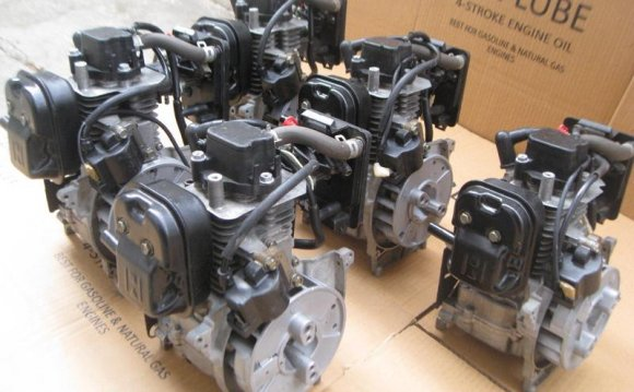 Four stroke petrol engines