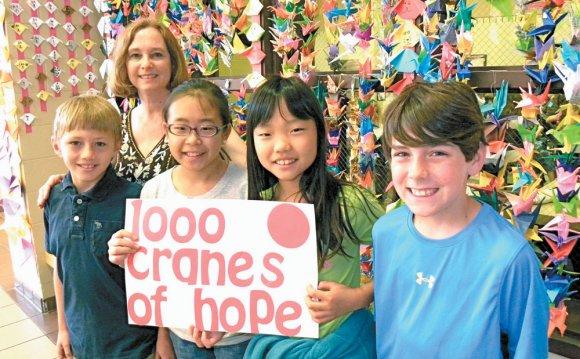 Japan Oragami Cranes Project