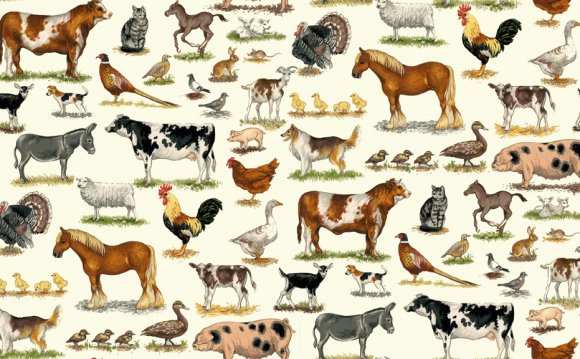 1486/1 FARM ANIMALS