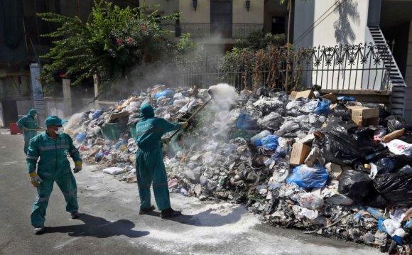 Lebanon s Trash Crisis Worsens