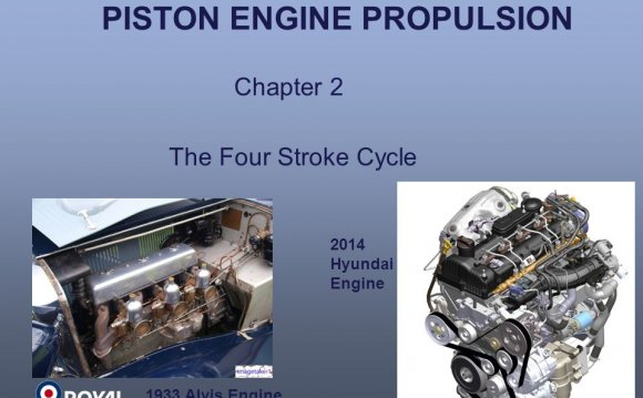 PISTON ENGINE PROPULSION