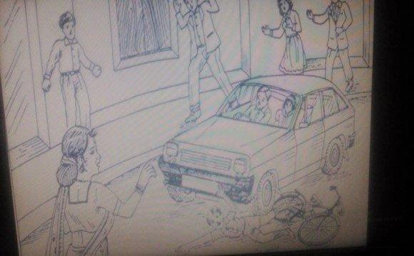 Negative PPDT Picture: A Car