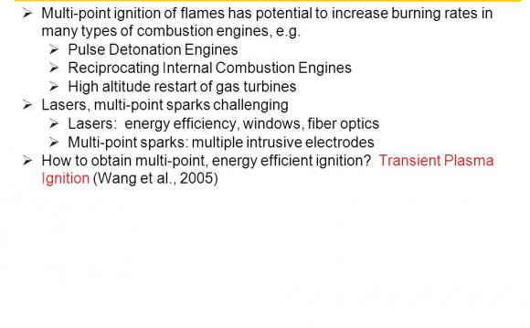 Many types of combustion