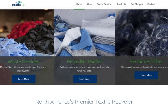 A local textile recycling