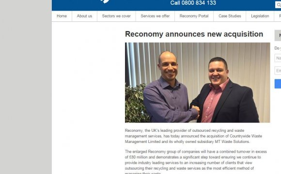Reconomy announces acquisition