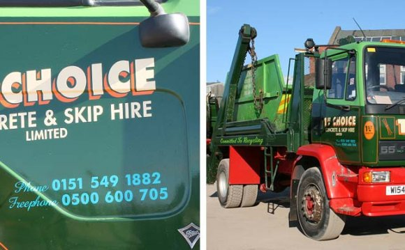 1st Choice Skip Hire Liverpool
