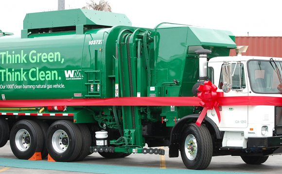 Waste Management will dedicate