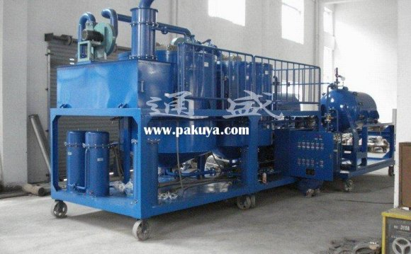ZYD waste used oil recycle