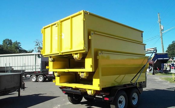 Waste Management portable Dumpster