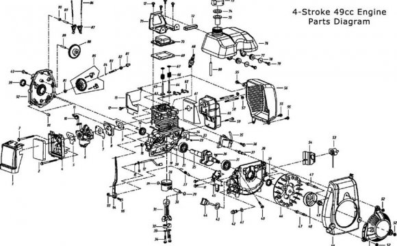 4 stroke diagram