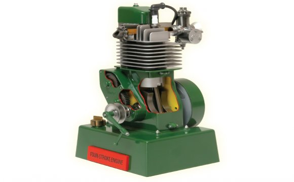Four stroke engine (PDF)