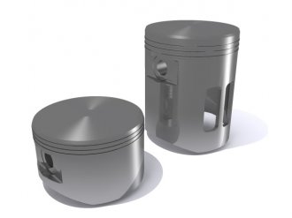 Different types of piston