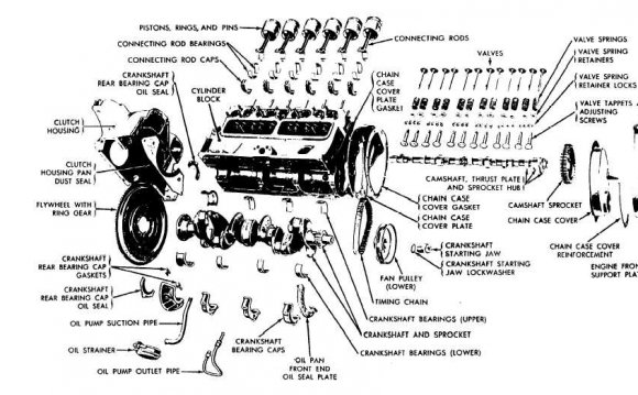 components of internal combustion engine