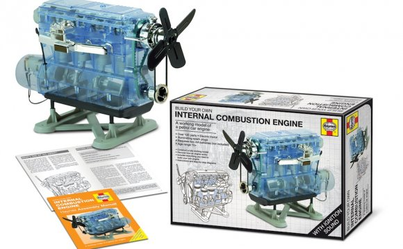 Build your own internal combustion engine