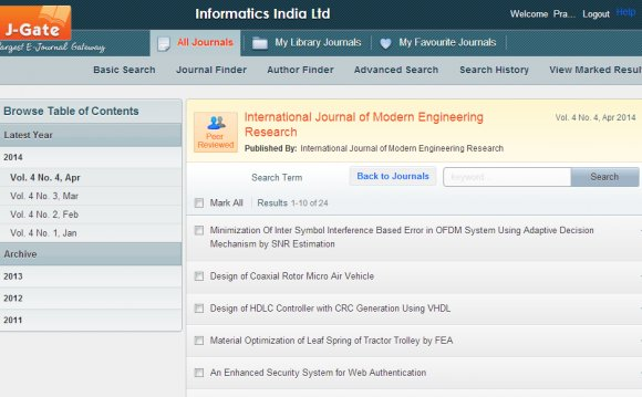 International Journal of Agricultural Engineering