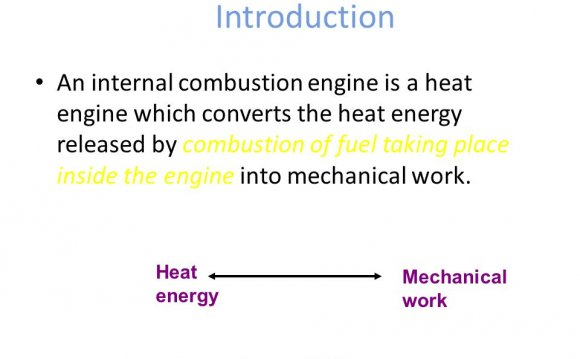 Define Internal-combustion engine