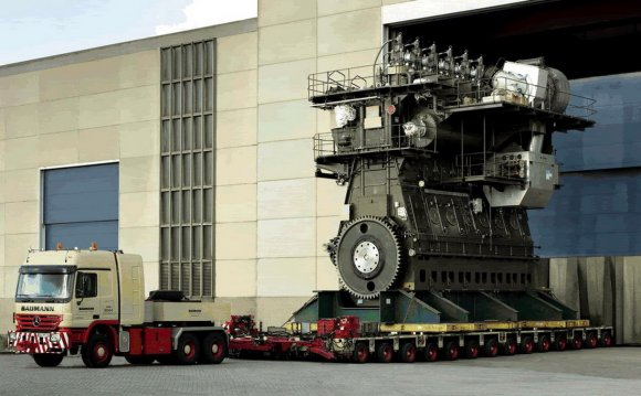 Largest internal combustion engine