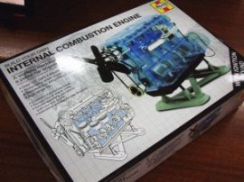 The Haynes 'Build Your Own Internal Combustion Engine' model