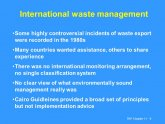 International Waste Management