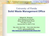 Waste Management Gainesville FL