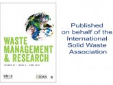 Waste Management Research Journal