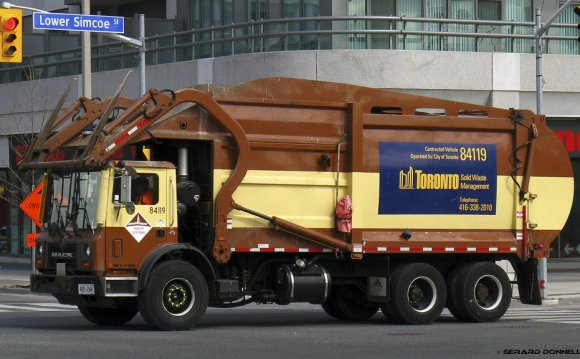 Toronto Waste Management schedule