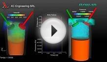 4 Stroke Single Cylinder Engine Simulation with Flow-3D by