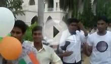 agricultural college bapatla students rally in support to