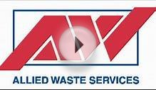 Allied Waste Services Radio Commercial