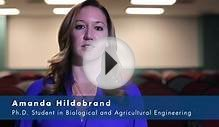 Amanda Hildebrand: Ph.D. Student in Biological and