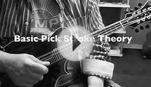 Basic Pick Stroke Theory - Mandolin Lesson