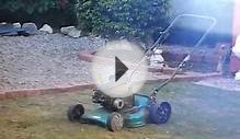 blowing up a 4 stroke briggs engine using sand