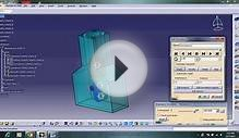 CATIA piston cylinder model Animation