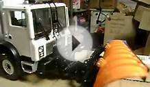 city of new york first gear garbage truck snowplow