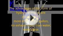 concept for hydrogen engine