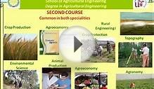 Degree in Agricultural Engineering