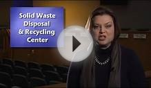 FAQ: Solid Waste Disposal & Recycling Center