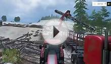 Farming Simulator 15 E39 - Loading the Trailer With Logs