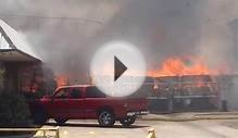 Fire at a business in Dallas, TX June 29, 2012 part 2