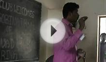 Gobinath motivational speech about the importance of