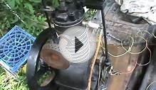 Home made Hit & Miss Curtus compressor engine