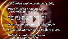 Internal Combustion Engine Tractor ASABE Landmark No 35