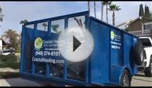 Junk Removal Orange County, CA - Coastal Hauling