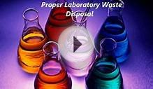 Laboratory Waste Disposal