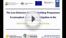 LECB Waste Management Working Group: A Conceptual Approach