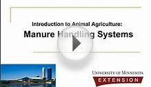 Manure Handling Systems